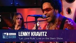 "Lenny Kravitz ""Let Love Rule"" on the Stern Show (2001)"