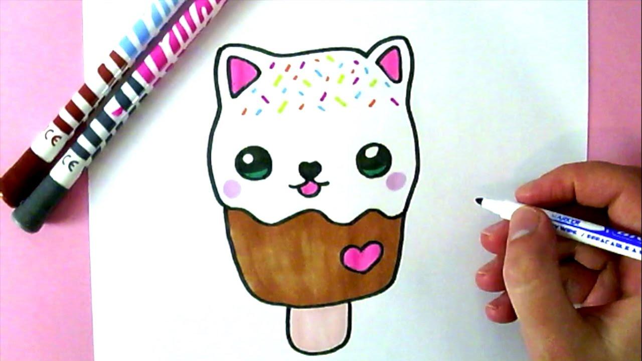 Wie zeichnet man eine liebe eiscreme youtube for Hase malen