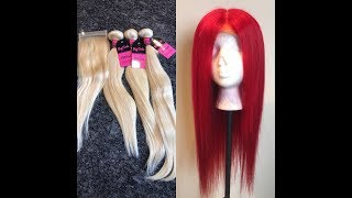 How to Dye and Make A Wig | Yolissa Hair