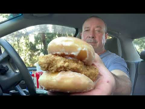 KFC Chicken & Donut Sandwich In Australia