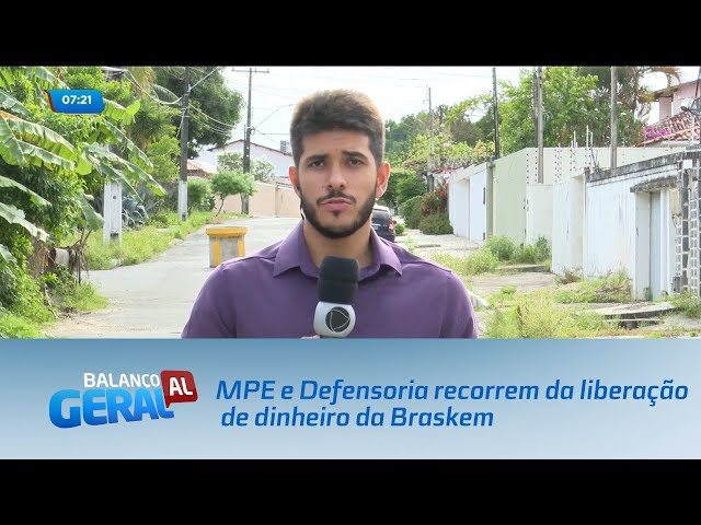 MPE e Defensoria recorrem da liberação de dinheiro que pagaria indenização aos moradores do Pinheiro