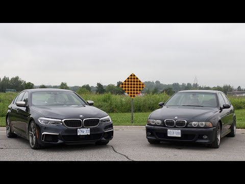 New vs old: BMW's latest 5 Series versus its classic predecessor