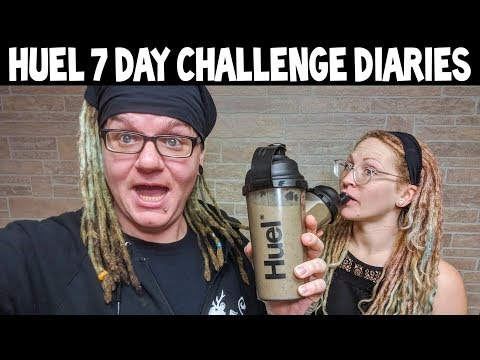 Huel 7 Day Challenge - Daily Diary Compilation | What!? What!?