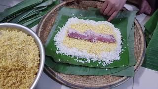 Cách gói bánh Tét truyền thống (chi tiết) cho Tết Nguyên Đán Việt Nam
