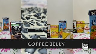 COFFEE JELLY (How to make coffee jelly)