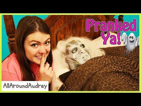 Family Fun Halloween Pranks!  AllAroundAudrey