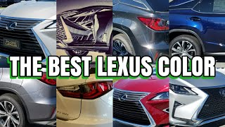 Lexus RX 350 Which Color Is Best For You? What Color Hides Dirt?