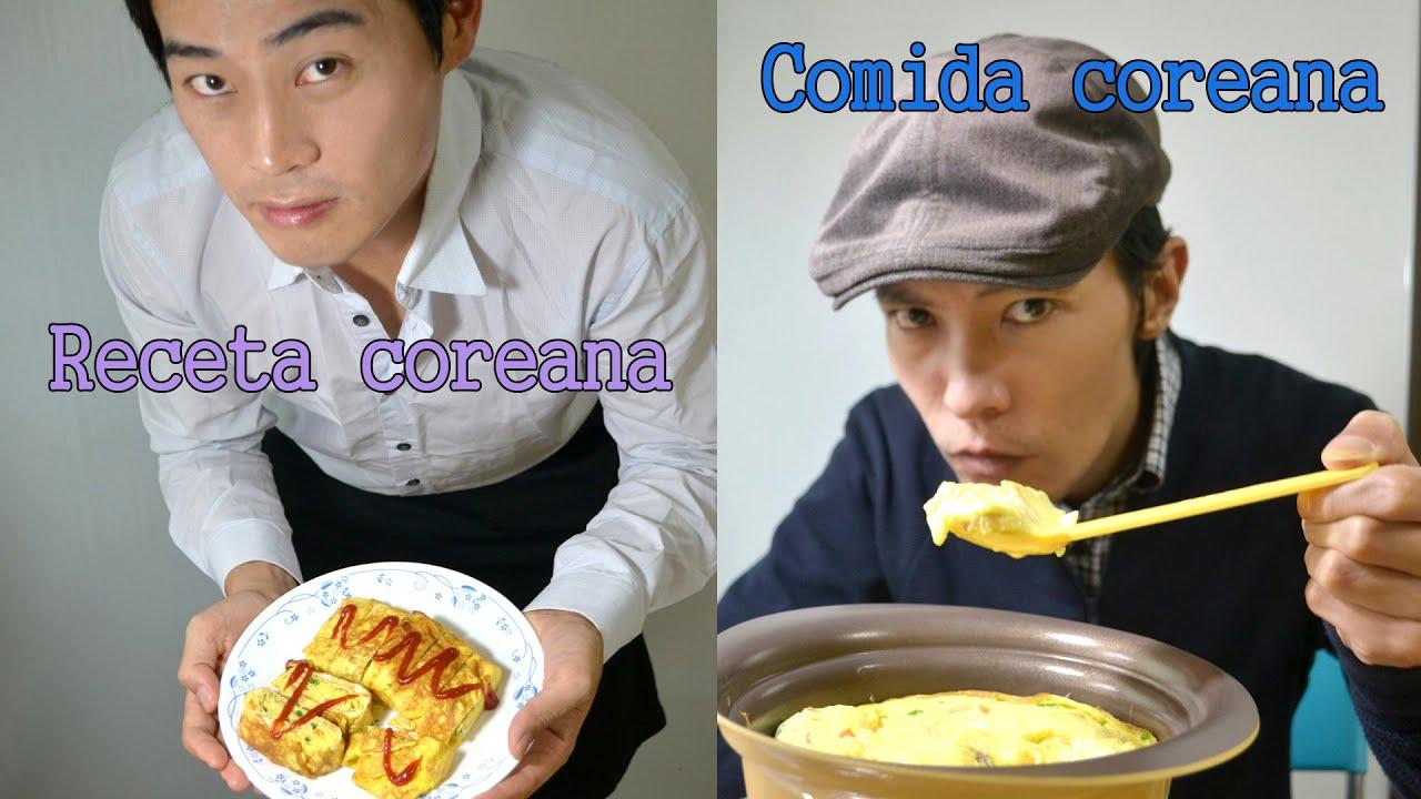Recetas comidas coreanas faciles rollos de huevo huevos for Comidas faciles de cocinar