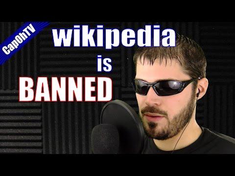 Wikipedia is BANNED in School | CapOh Raps!