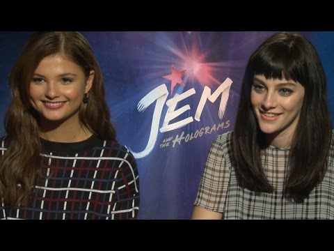 Jem and the Holograms Cast Talk Fave Scenes, Singing & On-Set Chemistry