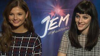 Jem and the Holograms Cast Talk Fave Scenes, Singing & On-Set Chemistry