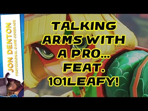 TALKING ARMS WITH A PRO! FEAT 101LEAFY!