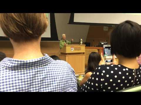 Jane Goodall Speech at NTU in Singapore