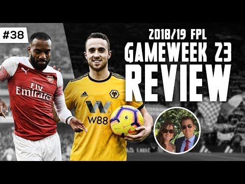 FPL Family s2e38 - Gameweek 23 Review - Fantasy Premier League