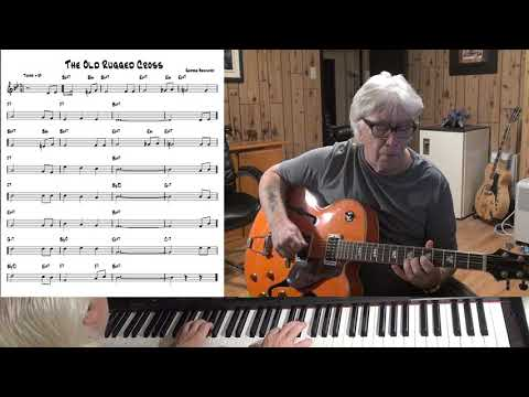The Old Rugged Cross - Jazz guitar & piano cover ( George Bennard )