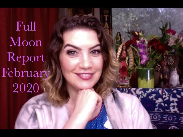Mystic Membership: Full Moon Report for February 2020