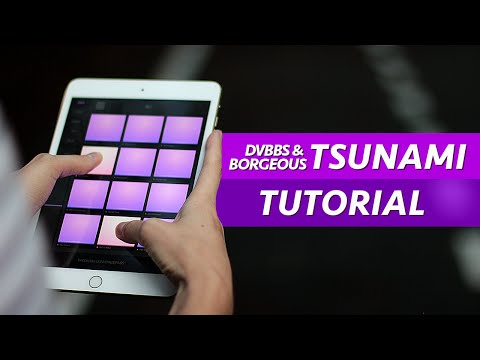 How To Play Tsunami - Electro Drum Pads 24 Super Tutorial