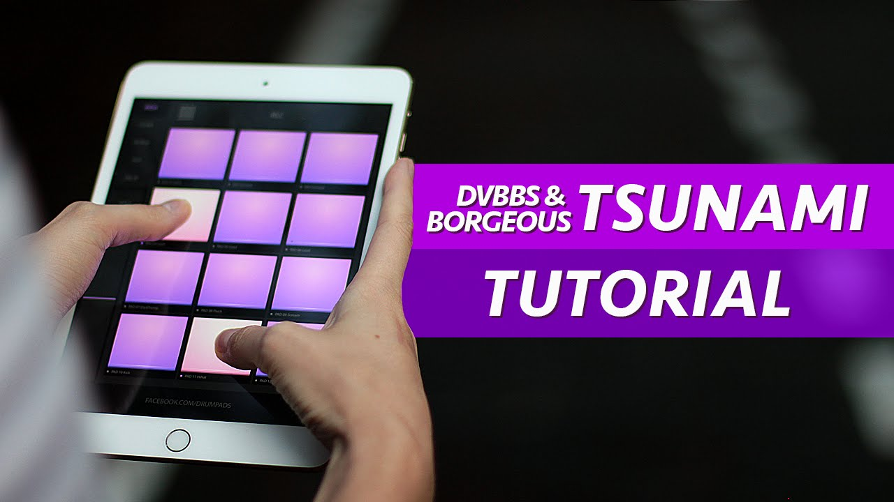 How To Play Tsunami - Electro Drum Pads 24 Super Tutorial - YouTube