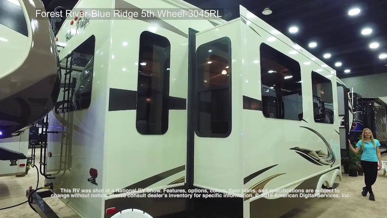 2017 Forest River Blue Ridge 5th 3045rl Youtube