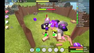 How to combat Crystal Stick strategy Meteor mining Booga Booga Roblox