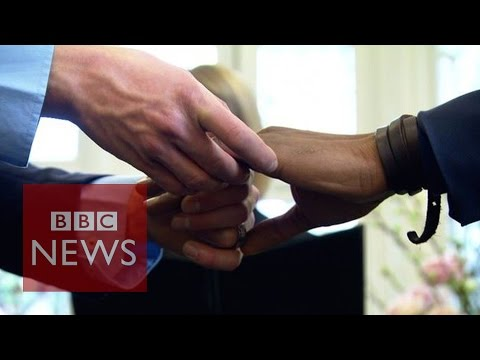 Fake gay marriages exposed in London by undercover investigation - BBC News