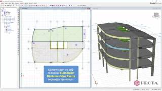 ProtaStructure ile Modelleme - Düzlem Tanımlanması