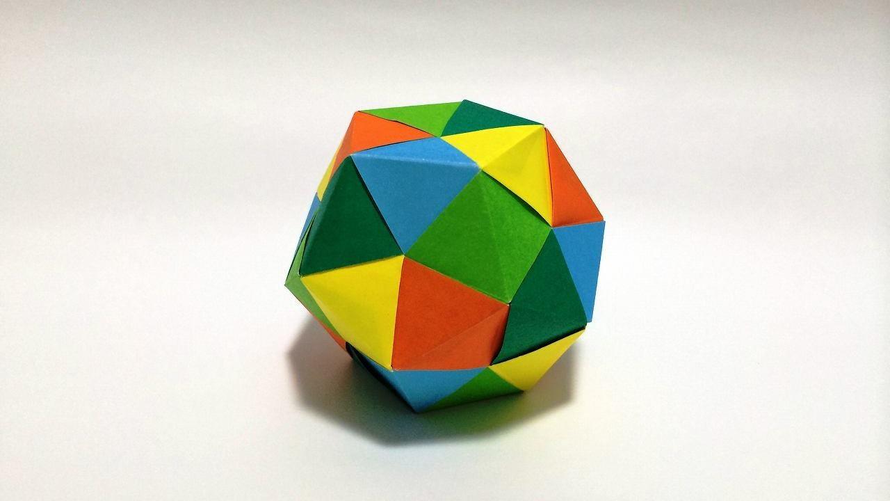 すべての折り紙 折り紙 星 折り方 : Modular Origami Dodecahedron