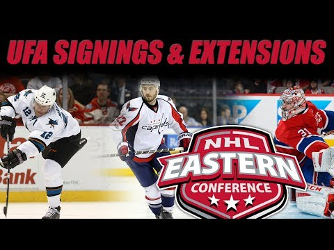 Reviewing UFA Signings & Extensions (EAST)