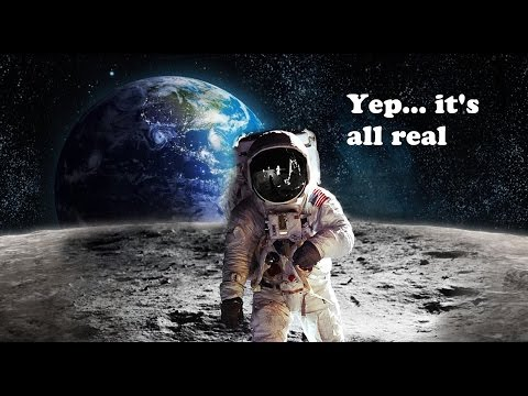 NASA Says We Can't Even Make it to the Moon? - Flat Earth