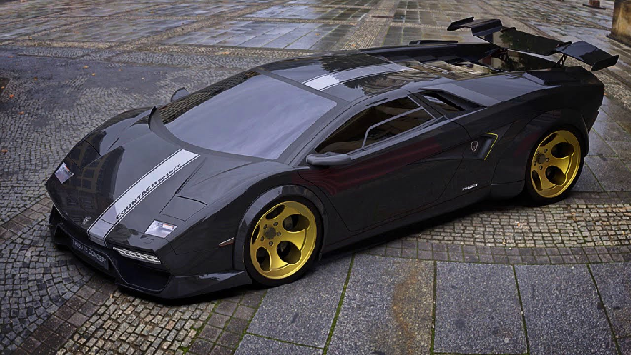 Countach Concept Spirit 3d Youtube