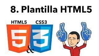 Curso Básico de HTML y CSS 08 -Plantilla HTML5-