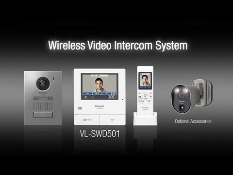 Panasonic Wireless Video Intercom System - VL-SWD501