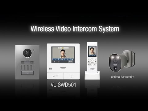 Panasonic Wireless Video Intercom System - VL-SWD501