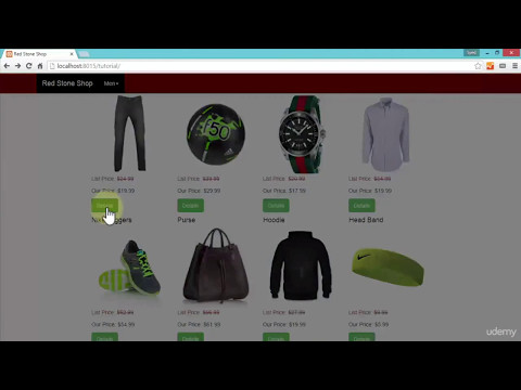 become a E Commerce Web Developer from scratch using PHP SQL CSS and HTML