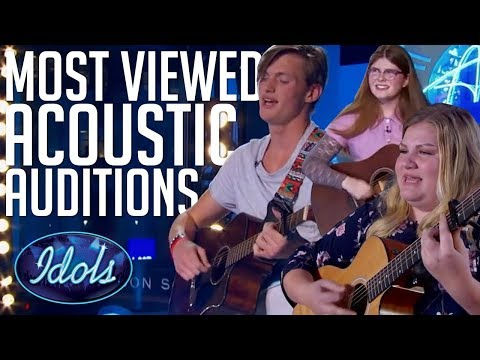 5 MOST Viewed Acoustic Song Auditions On American Idol 2018 | Idols Global