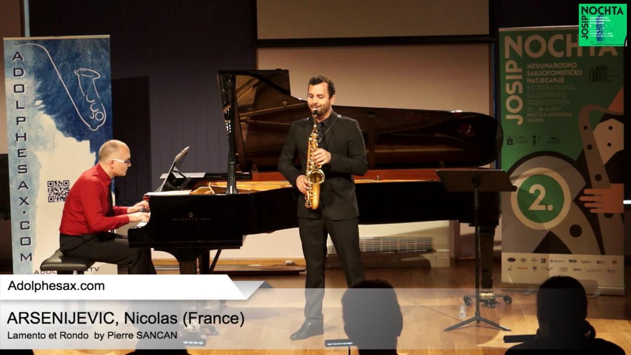 Lamento et Rondo by Pierre SANCAN – ARSENIJEVIC, Nicolas (France)
