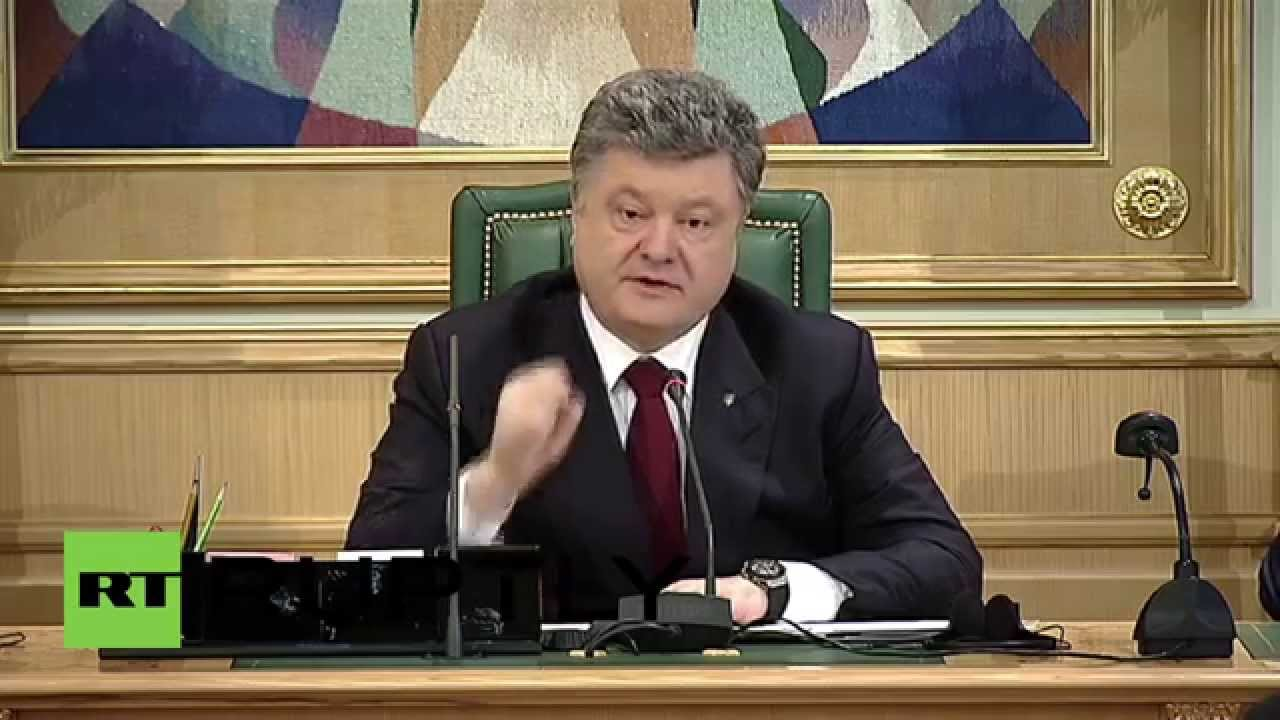 Poroshenko is ready to hold a referendum on the federalization of the country 08.02.2015 34