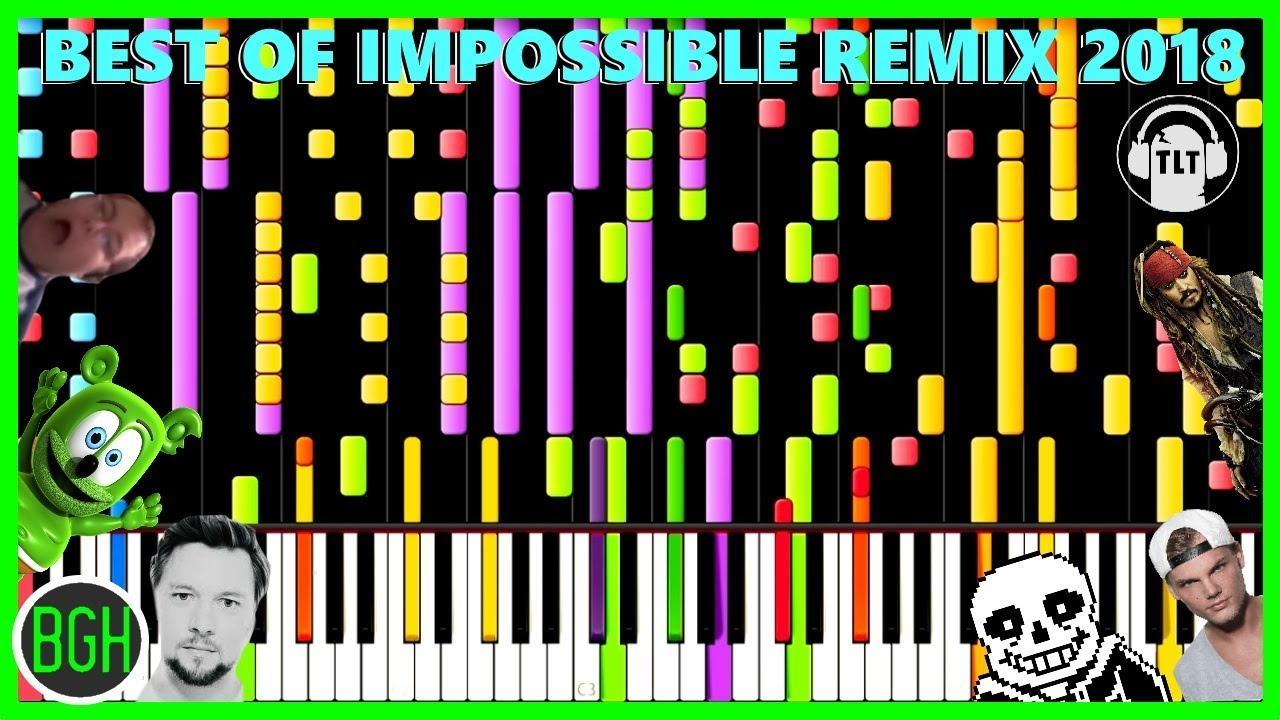 BEST OF IMPOSSIBLE REMIX 2018