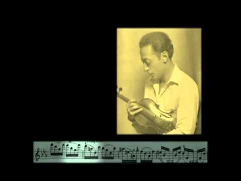 Heifetz Plays Wieniawski Caprice Op.10 No. 5