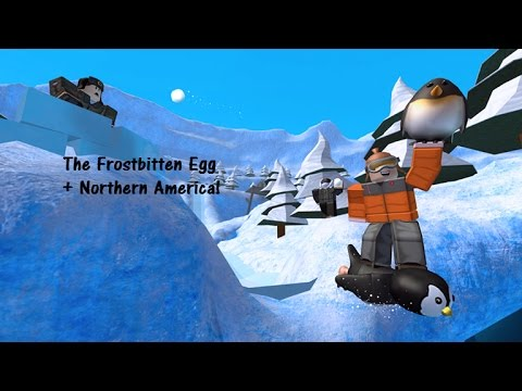Frostbitten Egg + Northern America! ROBLOX The Lost Eggs