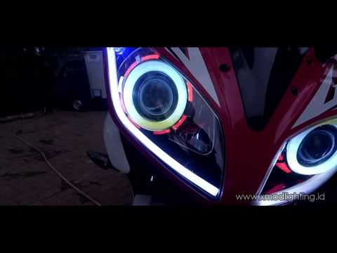 R15 V2 Modified With Projector Lights Multi Color Angel Eyes...