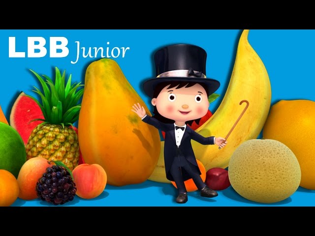 I Love Fruit! | Original Songs | By LBB Junior