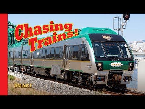 Chasing Trains! Episode 12 SMART Sonoma Marin Area Rail Transit