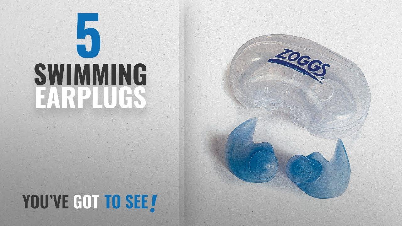 8b3d52b7f25 Top 10 Swimming Earplugs [2018]: Zoggs Aqua Plugz Swimming Superior Soft Ear  Plugs Ergonomically