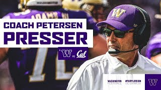 Football: Chris Petersen Postgame Press Conference (California)