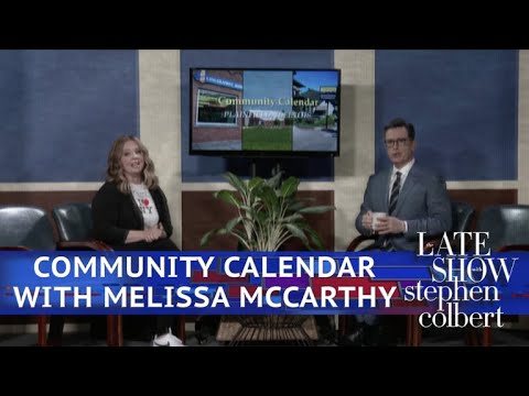 Plainfield, Illinois' Community Calendar With Melissa McCarthy