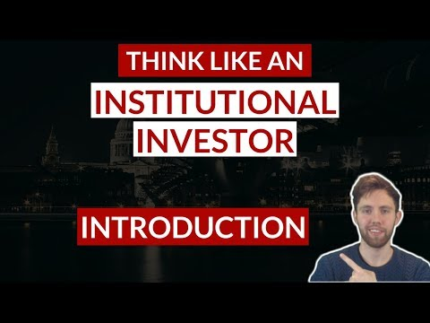 Think Like An Institutional Investor | Ep 1