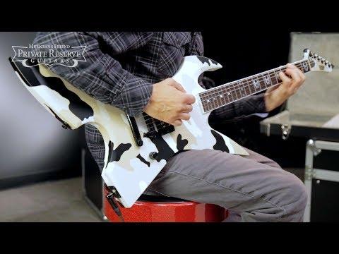 ESP Max Cavalera RPR Electric Guitar, Black Desert Camo