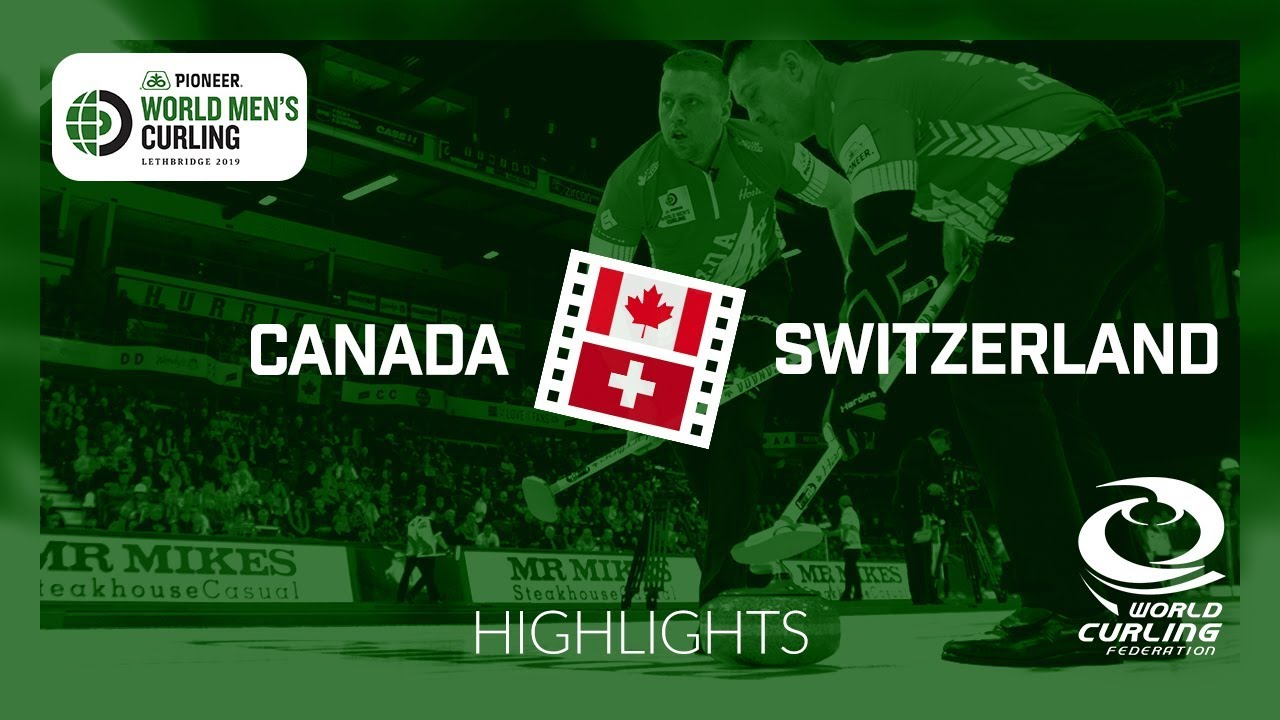 HIGHLIGHTS: Canada v Switzerland - Pioneer Hi-Bred World Men's Curling  Championship 2019