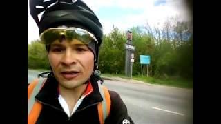 20170523 - Тверской велотурист Александр Титов посетил Сызрань